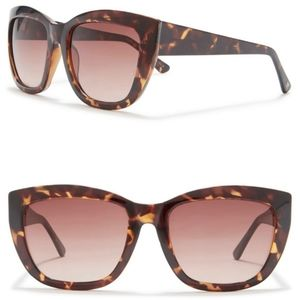 Joe's Jeans Tortoise Large Sunglasses